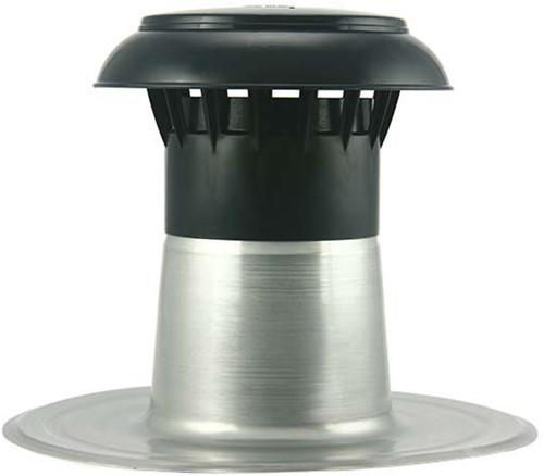 Flachdach Entlüftung mit Kunststoffkappe Ø150-160