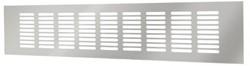 Sokkelgitter Aluminium Silber 400x80mm RA840S