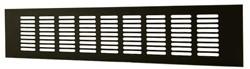 Aluminium plintrooster 40 mm x 500 mm zwart (RA450B)