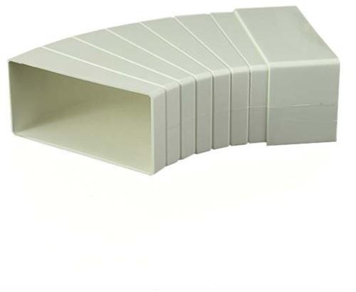 Bogen 15-60° Kunststoff Horizontal 110x55 KLH15-60