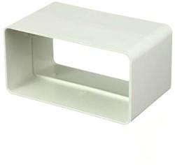 Steckverbinder für Flachkanal Kunststoff 110x55mm KS