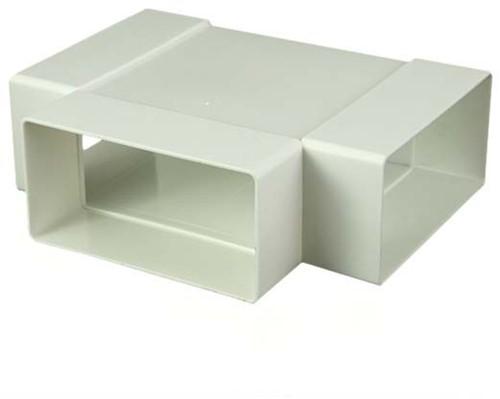 T-Stück für Flachkanal Kunststoff 110x55 KT