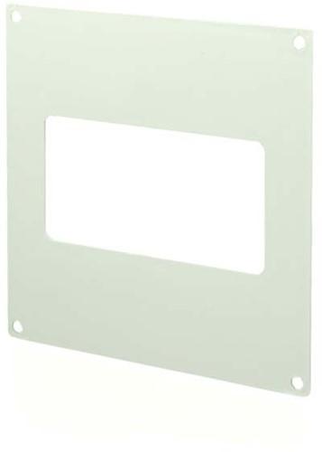 Rechteckige Wandplatte Kunststoff 110x55 KF