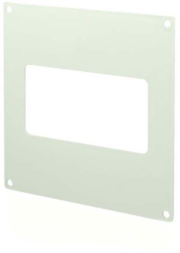 Rechteckige Wandplatte Kunststoff 220x55 mm KF25