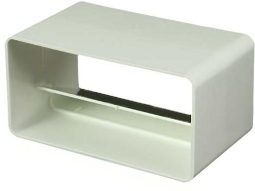 Rechteckige Rückschlagklappe Kunststoff 110x55 KV