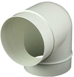 Bogen 90° Kunststoff Ø 125 mm AL125-90