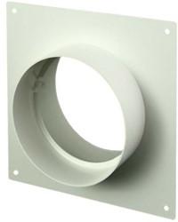 Wandplatte Kunststoff Ø 125 mm AFS125