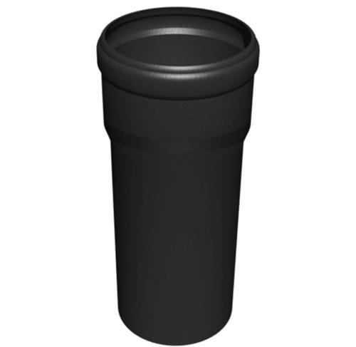 Luftzufuhrrohr Ø80mm PPH L=500mm