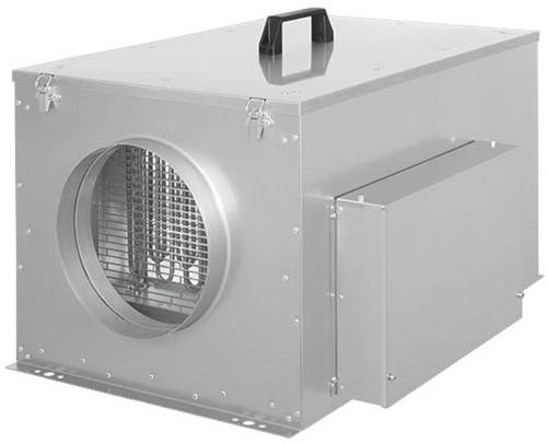 Ruck Kompaktes Zuluftgerät mit Elektroheizung und EC-motor 570m³/h - Ø150 - FFH 150 EC 10