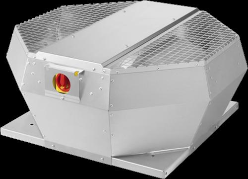Ruck Dachventilator Metall mit EC Motor, Geräteschalter und Konstantdruckregelung 1970m³/h - DVA 280 ECCP 31