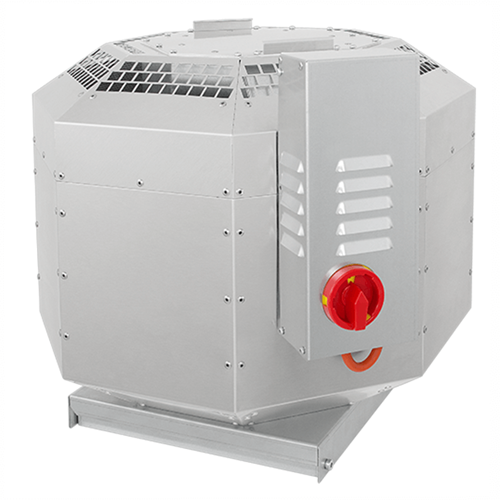 Ruck Dachventilator schallisoliert für Groß- und Gewerbeküchen – bis 120° C - 2160m³/h - DVNI 250 E2 30
