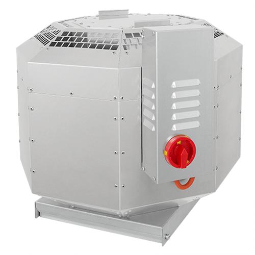 Ruck Dachventilator schallisoliert für Groß- und Gewerbeküchen – bis 120° C - 6390 m³/h - DVNI 450 E4 30