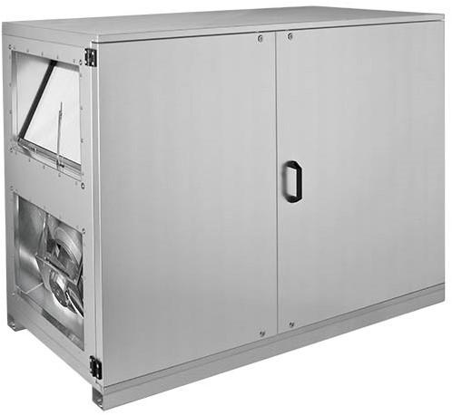Ruck ETA-H Lüftungsgeräte mit WRG und Warmwasserheizregister - Horizontale Luftanschlüsse rechts - 780m³/h