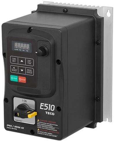 Ruck Frequenzumrichter 0 - 400 V 3~ - IP66 für MPS 400 D4, MPC (T) 400 D4 (FU 075 31)