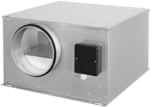 Ruck isolierter Abluftbox mit EC-Motor 590m³/h - Ø 160 mm - ISOR 160 EC 20