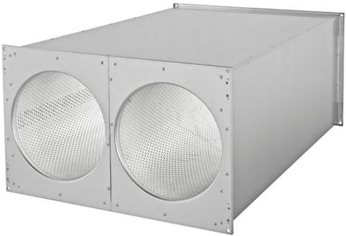 Ruck®-Rohrschalldämpfer 800x500 - SDE 8050 L02