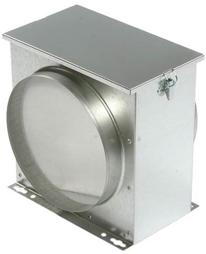 Ruck Luftfilterbox mit Vlies Ø 125 - FV 125