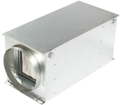 Ruck Luftfilterbox mit Heizregister Ø 100 mm - FTW 100