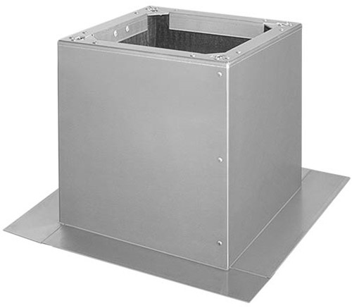 Ruck® Flackdachsockel für DVA (P) 450, 500, DVN(I) 450, 500, DHA(P) 450, 500 (DSF 450-10)