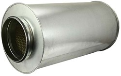 Schalldämpfer Ø 500 mm (600 mm) (100 mm iso)