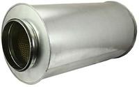 Schalldämpfer Durchmesser 200 mm - Länge 600 mm (100 mm Isolierung)
