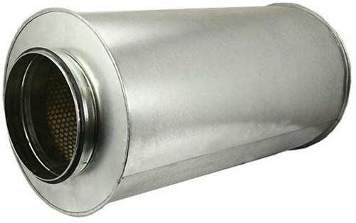 Schalldämpfer Durchmesser 125 mm - Länge 900 mm (100 mm Isolierung)