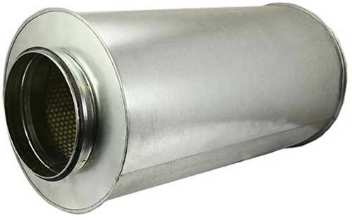 Schalldämpfer Durchmesser 450 mm - Länge 1200 mm (50 mm Isolierung)