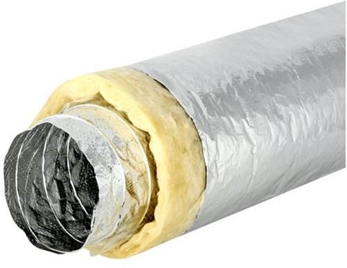 Sonodec Lüftungsschlauch 127 mm akustisch thermisch isoliert (1 Meter)