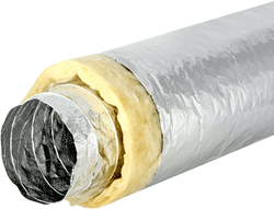 Sonodec Lüftungsschlauch 102 mm akustisch thermisch isoliert (10 Meter)
