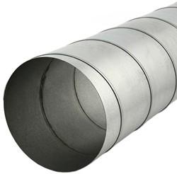 Wickelfalzrohr Ø 125 mm rund galvanisiert (1,5 M)