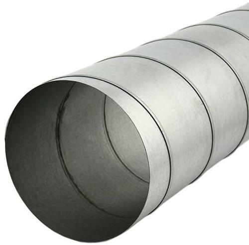 Wickelfalzrohr Ø 160 mm rund galvanisiert (1,5 M)