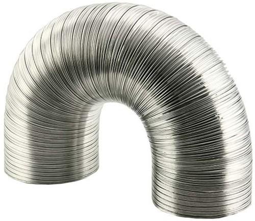 Lüftungsschlauch 125 mm Aluminium semi-flexibel (1,5 Meter)