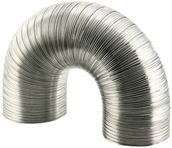 Lüftungsschlauch 150 mm Aluminium semi-flexibel (1,5 Meter)