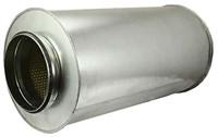 Schalldämpfer Durchmesser 100 mm - Länge 900 mm (50 mm Isolierung)
