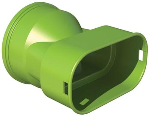 Ubbink-Adapter DBOX auf Flachoval 50x100