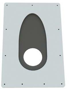 Ubbink Satz Zentrierplatte 100-131mm 0-55 Gr. R131