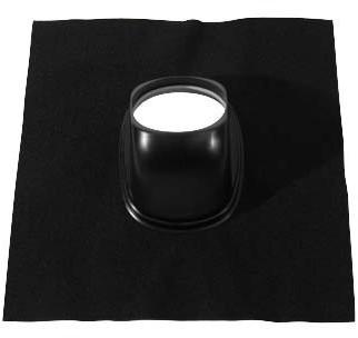 Ubbink Dachziegel Ubiflex Universal 25-45 Grad schwarz - Durchmesser 160-166