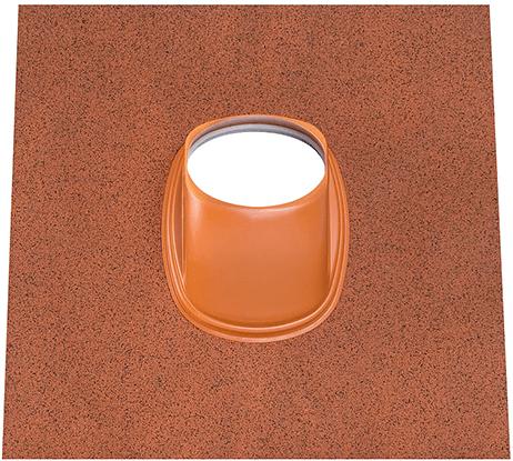 Ubbink Dachziegel Ubiflex Universal 25-45 Grad Terrakotta - Durchmesser 125-131