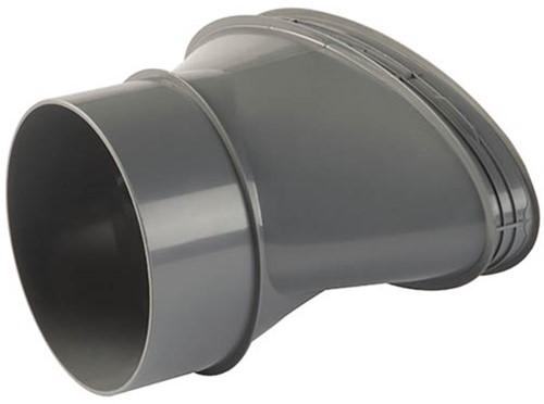 Ubbink DB206 kit zijdelingse aansluiting 100 mm