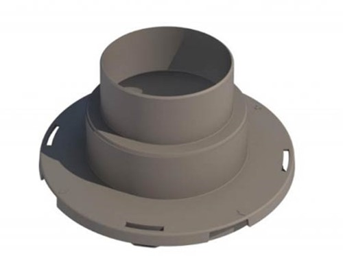 Ubbink Meervoudige adapter DN 100-125 mm