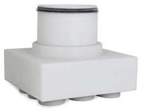 Uniflex Plus Subverteilbox Unteranschluss 9x Ø 63 mm mit Tülle Ø 180 mm