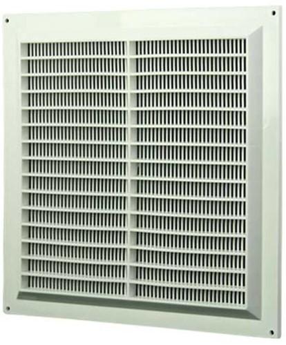 Lüftungsgitter quadratisch mit Insektenschutz Weiß 250x250mm VR2525