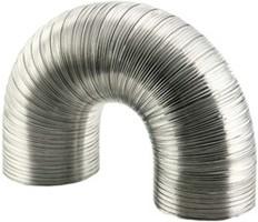 Lüftungsrohr semi-flexibel (Alu)