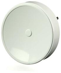 Tellerventil Kunststoff Ø 125 mm Weiß mit Federklammern - VST125