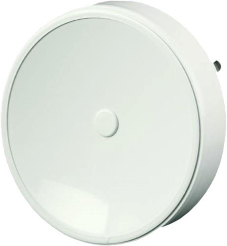 Tellerventil Kunststoff Ø125 mm Weiß mit Federklammern - VST125