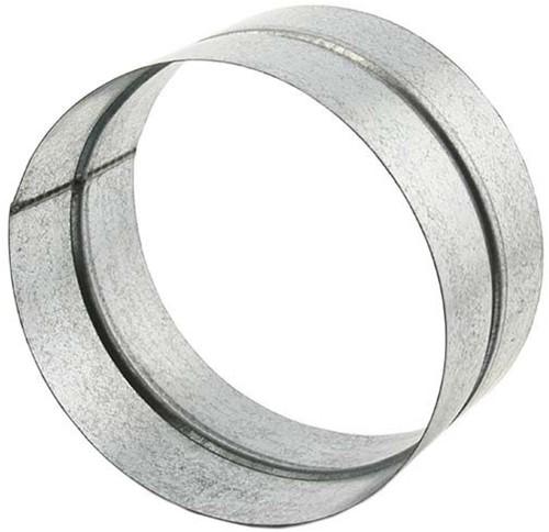 Wickelfalz Muffe für Formteile Ø 125 mm