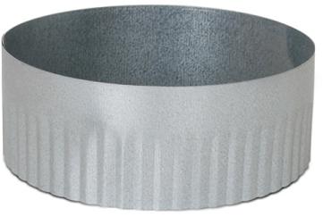 Verlängerungsring Ø125mm H=40mm
