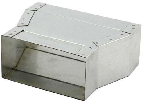 Flachkanal Reduzierstück 300x80 - 165x80 mm