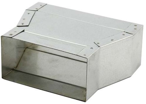 Flachkanal Reduzierstück 300x80 - 220x80 mm