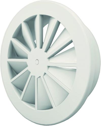 Dralldurchlass mit zentrale Schraubbefestigung 200 mm mit Seitenanschluss nicht isolierter Anschlusskasten 160 mm - Mischfarbe RAL 9010